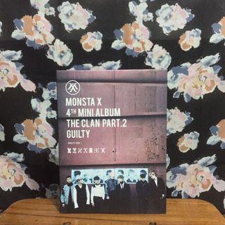 Album Monsta X THE CLAN PART 2 (Guilty Ver.)