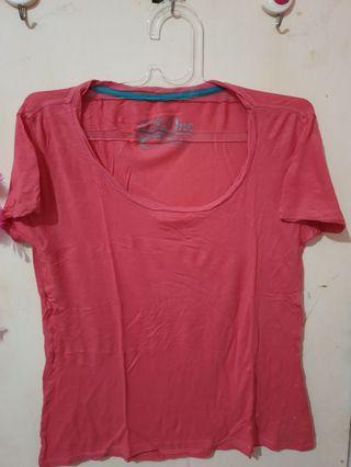 Number 61 (sixty one) pink tee (kaos pink)