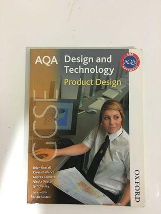 GCSE AQA Design and Technology Product Design Textbook