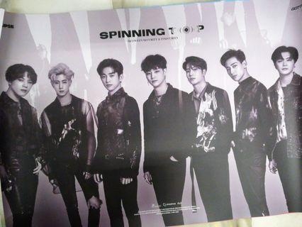 GOT7 Spinning Top Poster