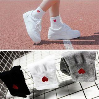 SX01 Women's Heart love socks