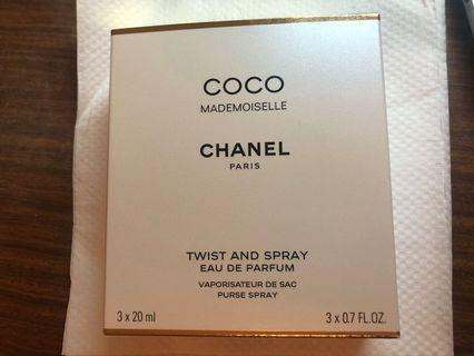 Chanel MADEMOISELLE twist and spray