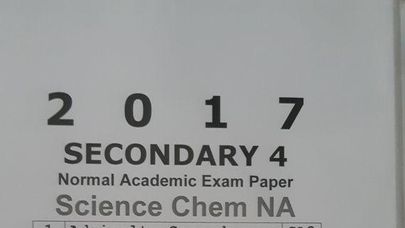 Exam Papers/Assessments - Sec 4 (Almost New)