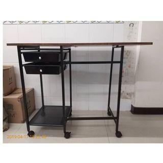 機動X折疊三尺工作桌+好用可摺疊收納+小資女必備+超省空間+一件免運+鑑賞期保障
