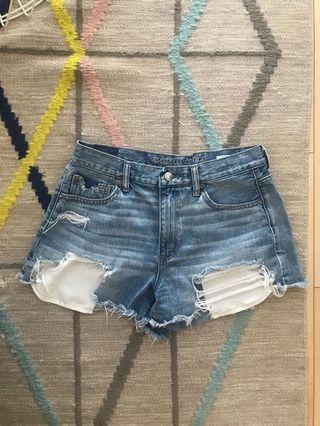 American Eagle High Waist Festival Shorts - Size 10