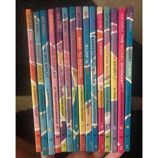 15 Go Girl Books