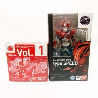 S.H.Figuarts SHF Kamen Rider Drive Type Speed with 1st Edition Bonus