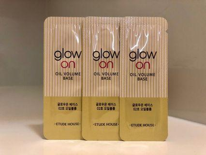 Etude House Glow On Base #2 Oil Volume 亮澤型妝前提亮底霜