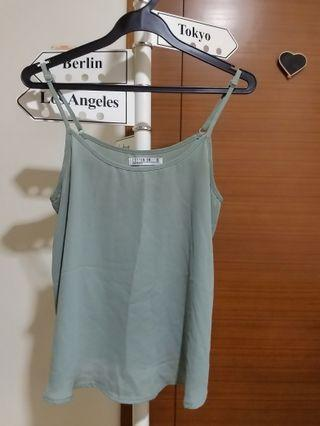 Cotton On Faded Green Camisole