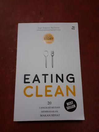 Buku Eating Clean by Inge Tumawa