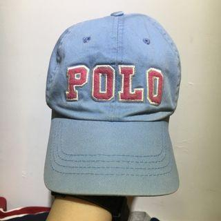 Polo 大字母皮扣老帽
