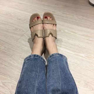 🚚 米杏 平底涼鞋