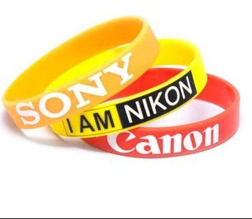 Lens Silicone Rubber Band for Nikon, Canon & Sony