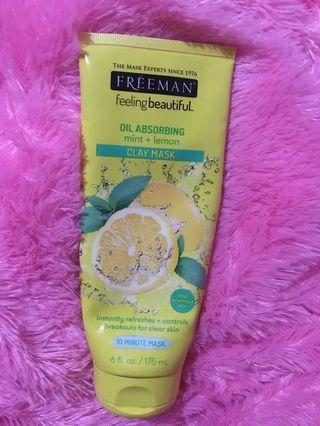 Freeman Clay mask mint+lemon