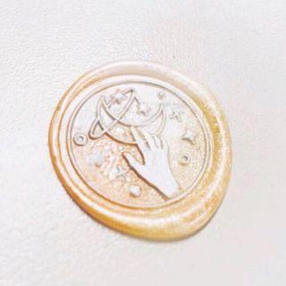 🚚 Hands Reaching Out To The Stars ✨ 2.5cm Wax Seal Stamp Set