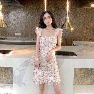 🚚 sequin ribbon dress