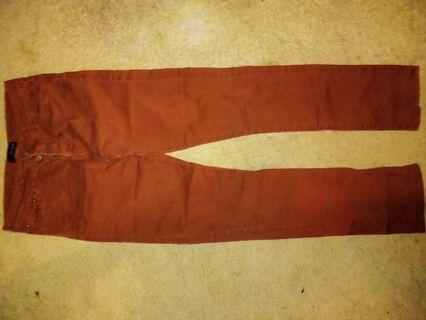 The Kooples Men's rust brown jeans size 30