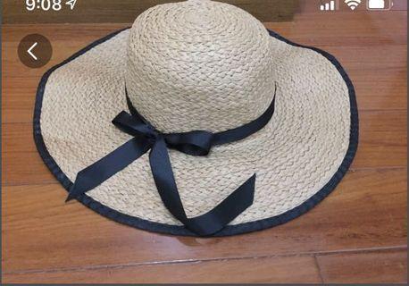 🚚 大帽緣草帽