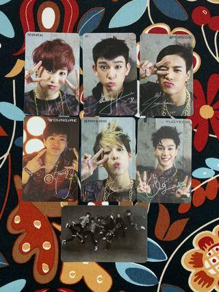 [WTS] GOT7 Photocards