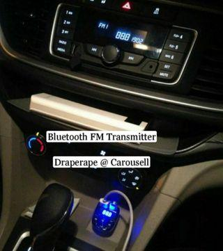 🚚 Bluetooth FM Transmitter For All Cars!