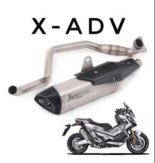 X-ADV Exhaust Full System