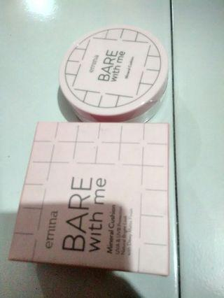 EMINA BARE WITH ME MINERAL CUSHION IN CARAMEL 03