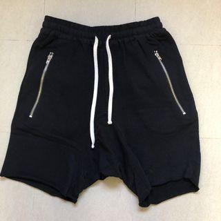 XS mnml sweatshorts black sweat shorts