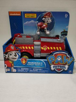Brand new in box Nickelodeon Paw Patrol Marshall's Forest Vehicle Original by Spin Master