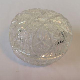 Crystal Jewellery Bowl