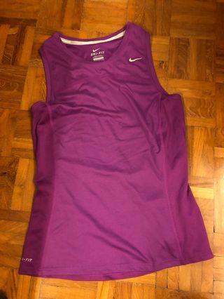 🚚 Purple Nike Tank Top
