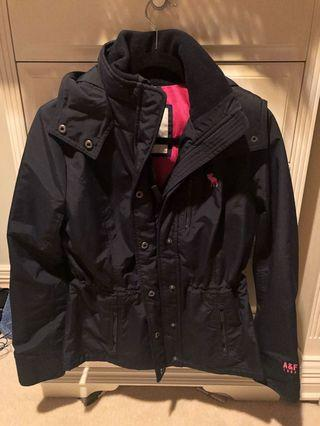 Abercrombie Navy Waterproof is Jacket
