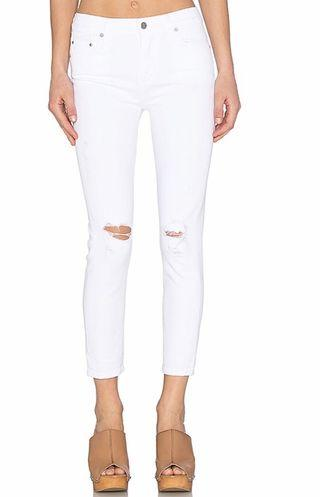 Aritzia - Citizens Of Humanity Rocket Cropped Distressed Milos