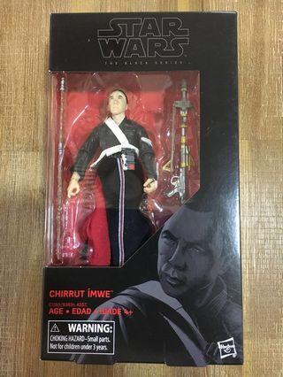 Star Wars Black Series Chirrut Imwe. Unopened! Mint box!