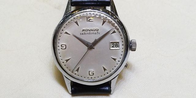 古董MOVADO上鏈錶