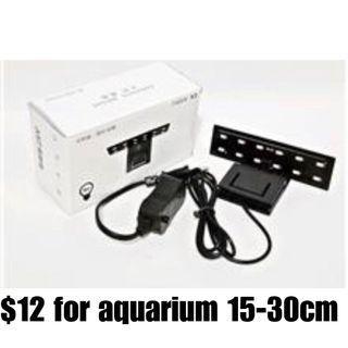 $12 AST X3 Aquarium LED Lamp for 10-30L aquarium glass tank