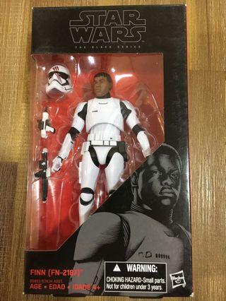 Star Wars Black Series Finn FN-2187. Priced to sell. Brand new.