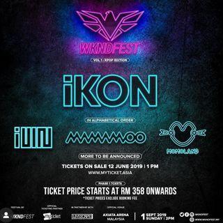 Wknd festival ticket service