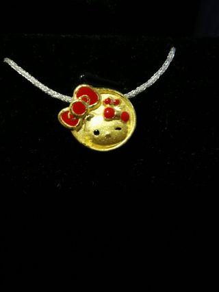 3f7481992 hello kitty charms 999 gold | Jewellery | Carousell Singapore
