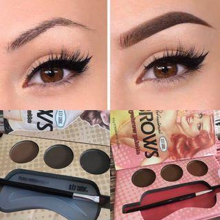 🚚 NEW EYEBROW PALETTE SET WITH MIRROR