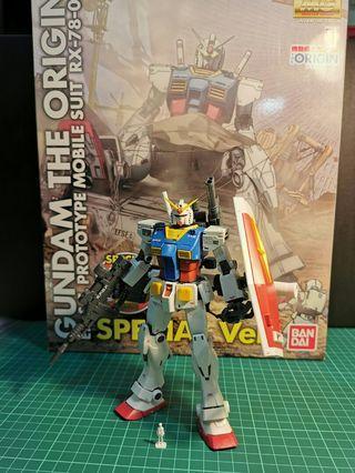 MG RX-78-02 Gundam (Gundam the Origin Ver.) Special Ver.