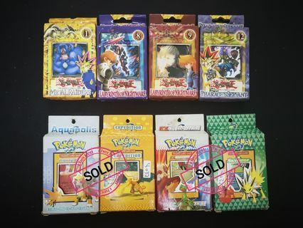 CARD GAME Pokemon & Yugi