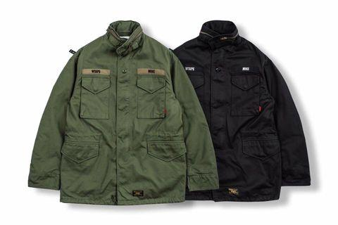 Wtaps 17aw Military M65 Jacket 軍裝 大衣 夾克