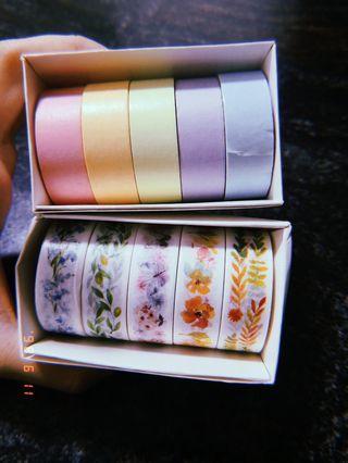 washi tapes!