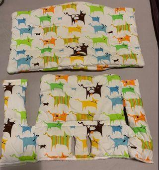 Used Stokke Tripp Trapp Cushion Set