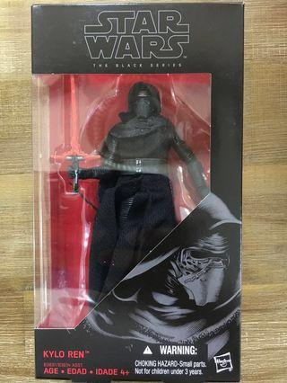 🚚 Star Wars Black Series 6 inch Kylo Ren. Super priced to sell! Unopened n new!