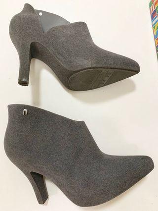 Melissa high heels shoes (grey)