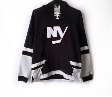 NY Islanders Lace Up Ccm Hoodie