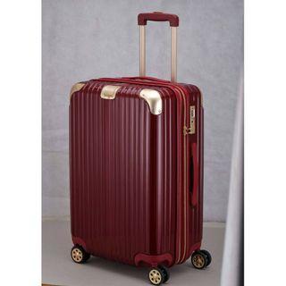 鋼鐵人色24吋行李箱