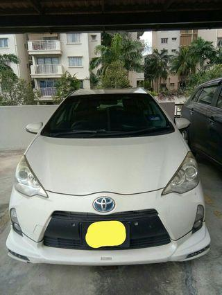 Toyota Prius Raya Rental Promo