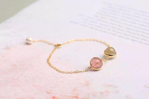 Lucky 🍀 bracelets _ 小幸运水晶手链 2 in 1
